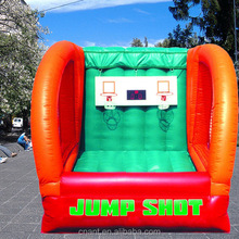 outdoor game inflatable basketball for kids
