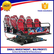 Hot attractive hydraulic/electronic reliable investment hydraulic seat & 5d cinema 5d theater