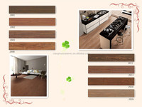 200x1000 mm various non slip antibacterial wood look ceramic tiles suitable for many rooms