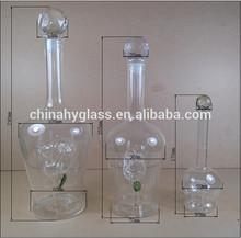 Venda quente 750ml clara de vidro vazio de garrafas de vinho, alta qualidade baratos garrafas de vidro vazias para venda
