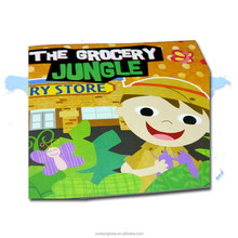 OEM Custom Children Style Cartoon Soft Cover Story Book School Supplies