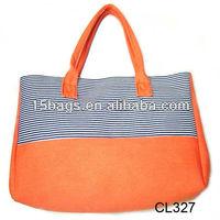 2012 trendy fancy good lady canvas design bag