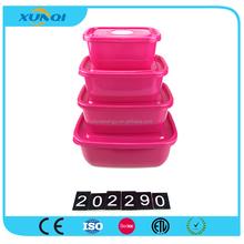 Hot Selling Rectangle 4 Layer Plastic Crisper