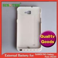 SINOTEK 4200mah battery case for samsung galaxy note 9220