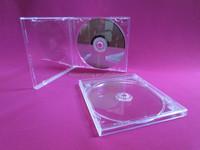 CD jewel case plastic case cd 10.4mm