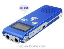 Mini Digital Voice Recorder SK-015 built-in 4GB/8GB memory with MP3 Format USB Telephone Recording repeater function
