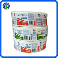 Excellent Quality Custom Roll Self Adhesive Pill Bottle Custom Label And Sticker