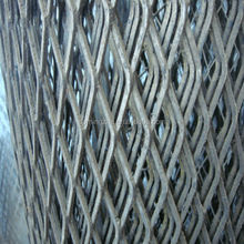 Easy of installation steel plate mesh / pulled plate wire mesh