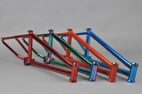 Chromoly4130 Butted oil slick frame bmx crank
