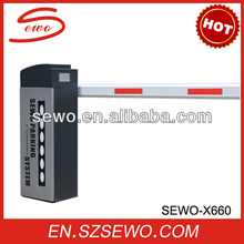Hot Selling Automatic Aluminum Barrier Arm Gate for Car Parking Lot Management System