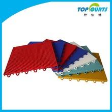 Outdoor interlocking flooring / tennis court interlocking tile / outdoor pp sports flooring