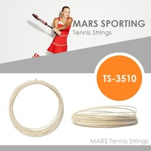 hot salegreat power 12meters white co-polyester monofilament for tennis racket tennis string