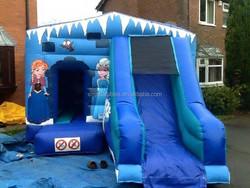 Winter/frozen Bouncy castle/ Bounce & Slide