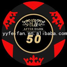 ceramic poker chips,10g, can be customed