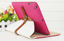 360 rotating stand case for ipad air, PU leather case for ipad air