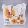 Sunflower printed canvas bag cotton canvas tote bag recycle handle bag