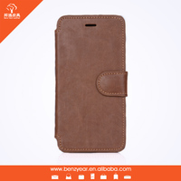 "2015 Hot selling 4.7"" PU leather flip cover case for iphone 6 case"