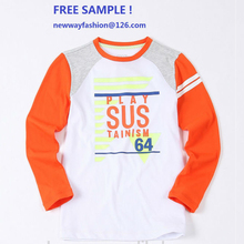 2015 new design fashion kids t-shirt wholesale