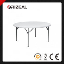 Orizeal Outdoor Round Plastic Tables and Chairs OZ-T2228