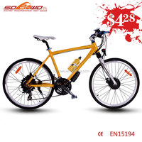 """29"""" inch big frame city model mountain electric assist bicycle"""