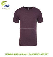 Cotton Spandex dry fit Soft feeling Men Training gym fitted t shirt fancy blank t-shirt design