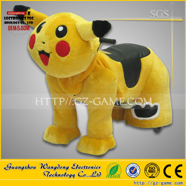 2015 Hot styles Low price with High quality Kids playground entertainment mechanical horse walking animal rides for mall