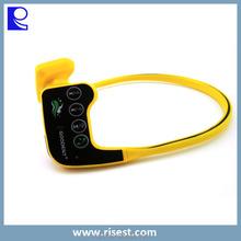 MP3 Bone Conduction, New Model MP3 Player, Waterproof MP3 Player