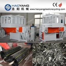factory seller for double / single shaft pet bottles shredding machine