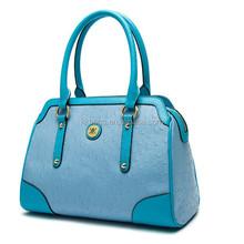 Trend AAA Quality Women Genuine Leather Ostrich Handbag 2015