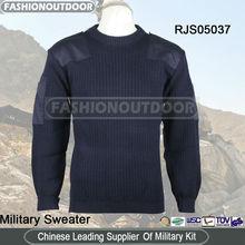 suéter de lana de la marina de guerra