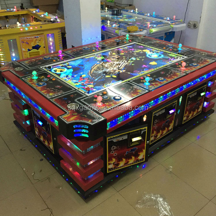 2015 fish hunter arcade games arcade fishing game machine for Fish table game tips