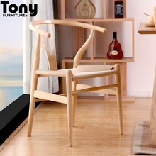classic living room high back wooden dining chair