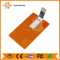 cheap plastic business card usb flash drive with customize logo