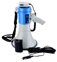 professional digital megaphone with USB+recharge battery