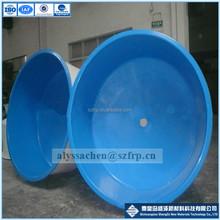 De fibra de vidrio del tanque de pescados / GRP acuicultura tanque / fibra de vidrio tanque