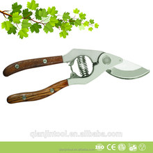 Whole Forged Wooden handle Classic Bypass Pruner
