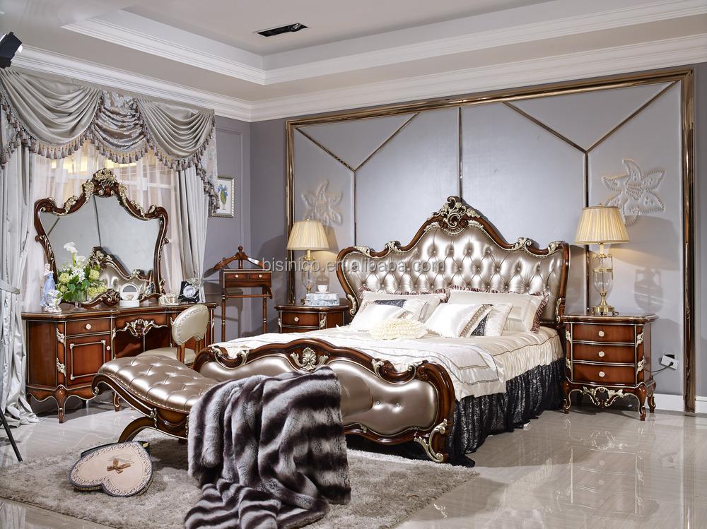 eau style luxe antique lit mobilier de chambre de luxe. Black Bedroom Furniture Sets. Home Design Ideas