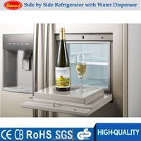 Factory household side by side refrigerator freezer OEM