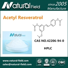 Chinese Supplier Nootropic Acetyl Resveratrol 99%