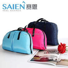 Patent design colorful handbag neck pillow memory foam travel cushion