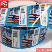 free sample vinyl adhesive tire rubber barcode labels for packaging