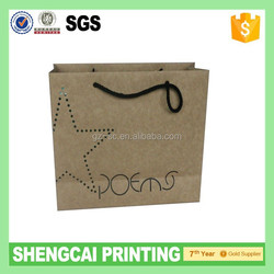 Raw materials of paper bag with small hole