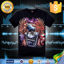 Can be customized american style frozen animal men 3d ing t-shirt sex xxl