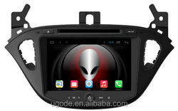 Factory direct sale android4.4 quad core car dvd gps multimedia for 2016 Opel corsa