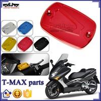 BJ-OC-010C Wholesale China Motorcycle CNC Brake Fluid Reservoir Cap Cover For Yamaha T-max 500 530