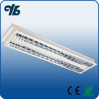 Factory Wholesale 4feet 2*40W LED T8 Troffer Light Fixture
