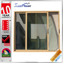 New arrival AS2047 standard large sliding glass doors for residential house