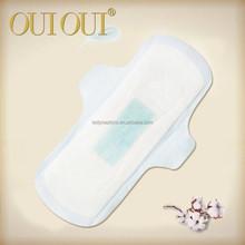 Matières premières de haute qualité serviette hygiénique pour FDA examen, Serviette hygiénique stock lot