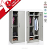 Double door metal chest of drawers / hostel furniture clothes luggage storage cabinet