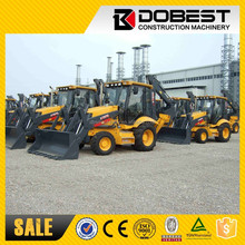 Chinese best loader famous brand XCMG XT870 backhoe loader in Europe